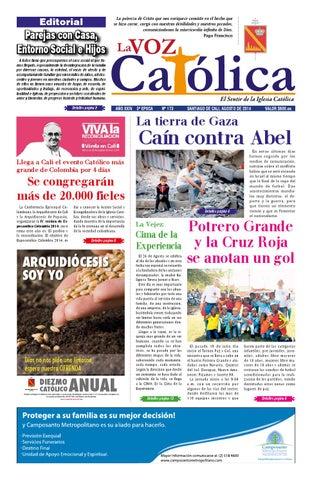 La Voz Católica Mes De Agosto 2014 By Arquidiócesis De Cali