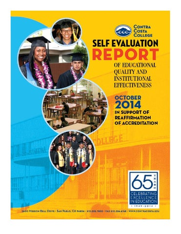 251055d6495 CCC 2014 Accreditation Self Evaluation by Contra Costa College - issuu