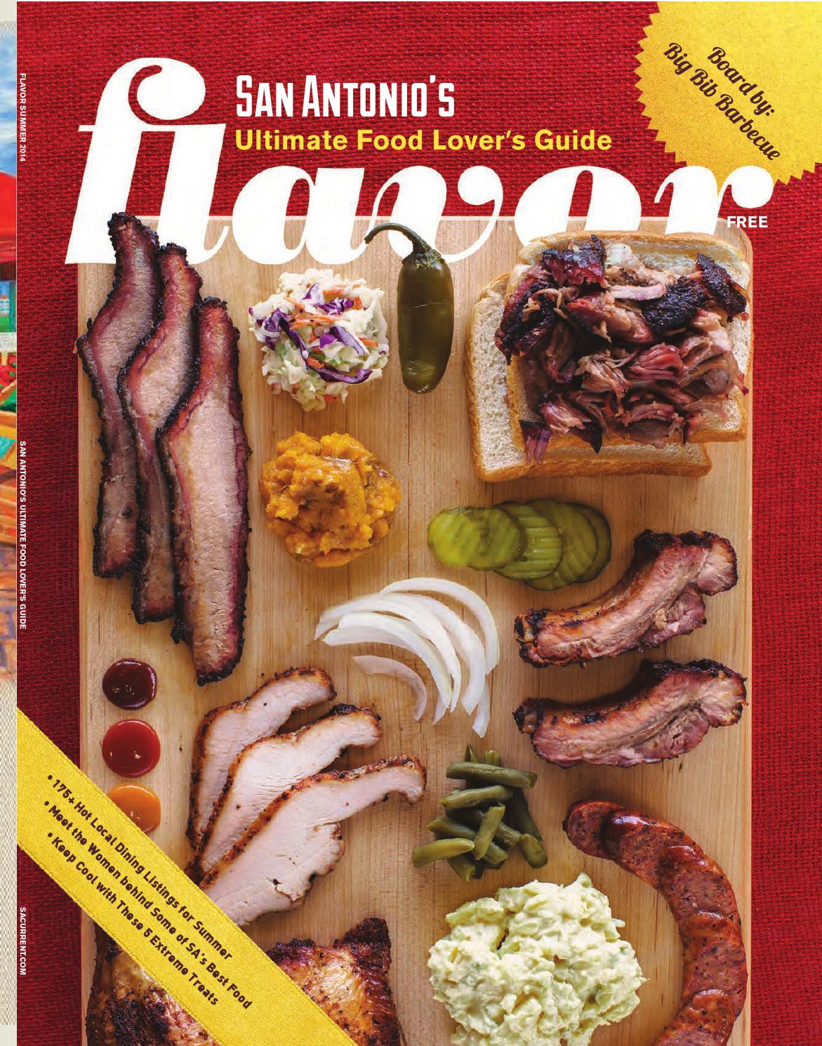 Flavor 2014 by San Antonio Current - issuu