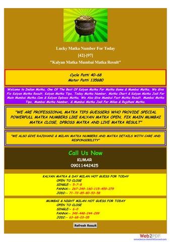 Www indianmatka com by kumarmatka30 - issuu