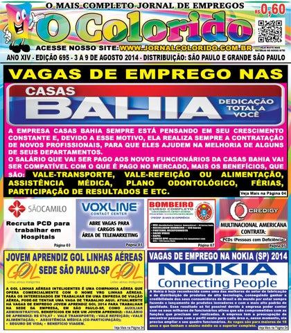 b3623ce25f49f ANO XIV - EDIÇÃO 695 - 3 A 9 DE AGOSTO 2014 - DISTRIBUIÇÃO  SÃO PAULO E  GRANDE SÃO PAULO