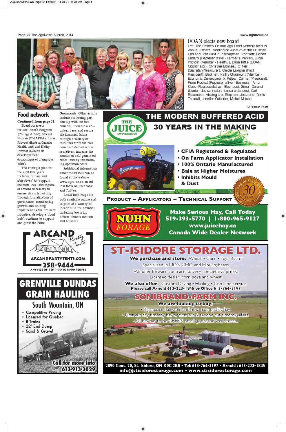 AgriNews August 2014 by Robin Morris - issuu
