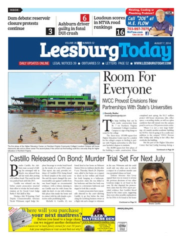 Leesburg today august 7 2014 by insidenova issuu page 1 fandeluxe Choice Image
