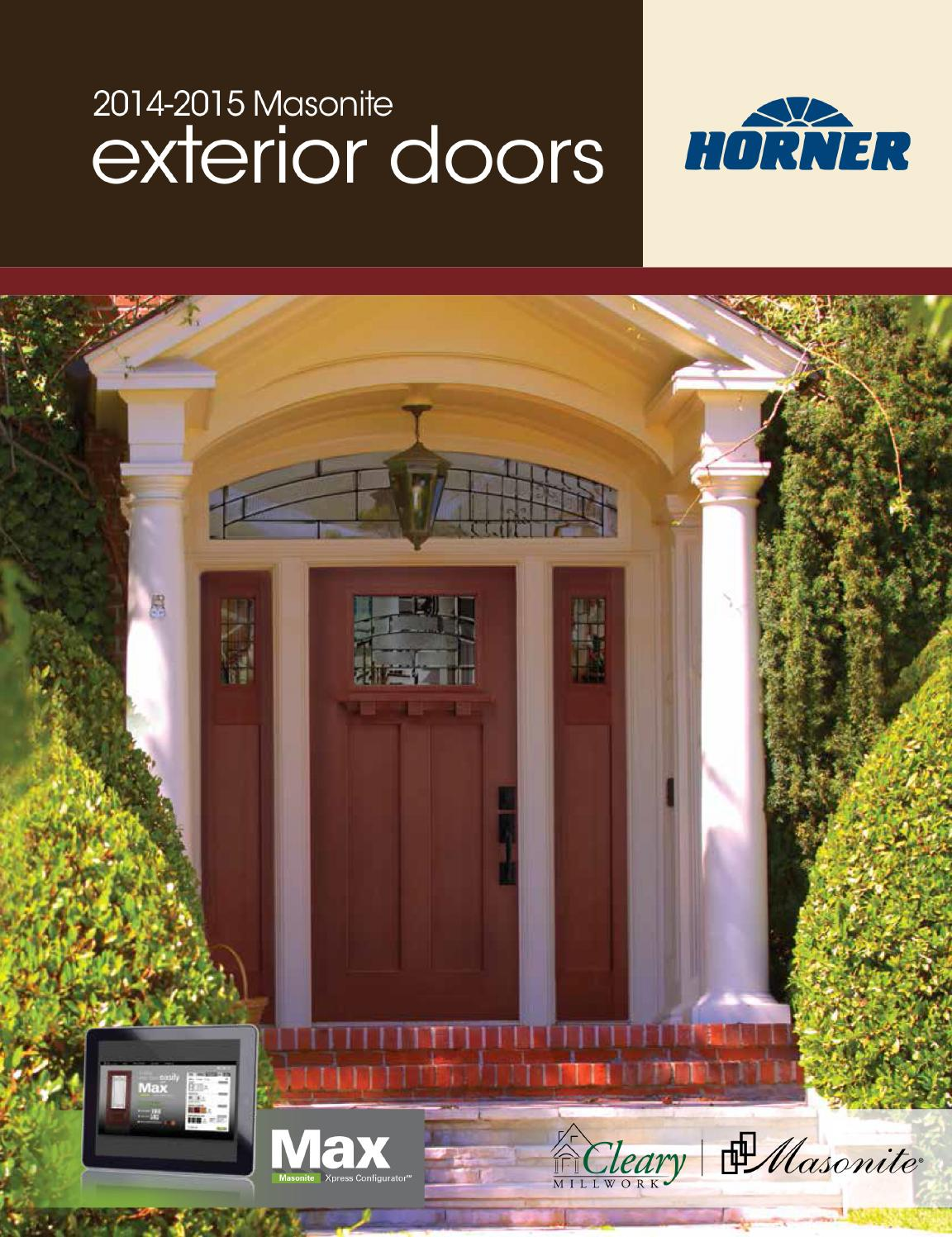 Masonite Steel Fiberglass Exterior Door Full Line