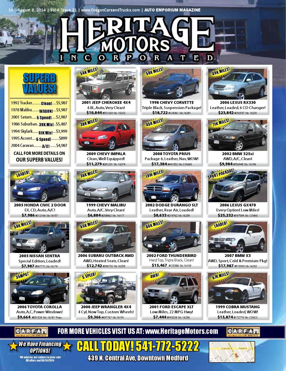 August 8, 2014 Auto Emporium by Rogue Publishing LLC - issuu