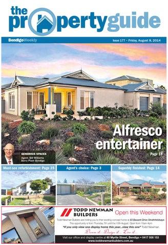 bendigo weekly property guide issue 177 fri aug 8 2014 by rh issuu com
