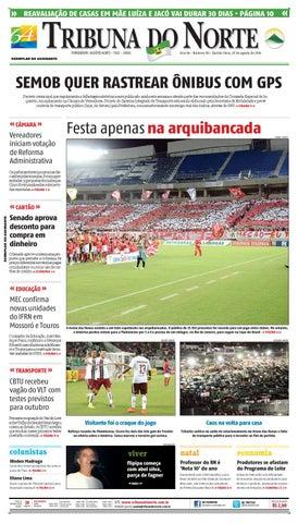 Tribuna do Norte - 07 08 2014 by Empresa Jornalística Tribuna do ... 29a32ba503db5