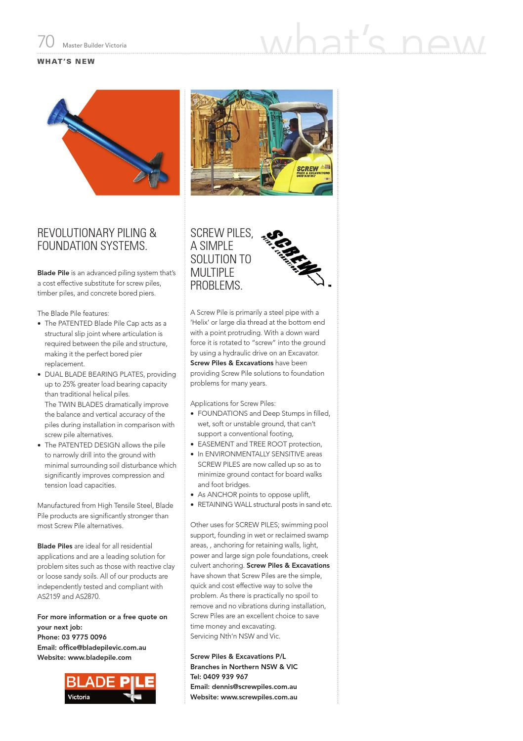 2014 Master Builders Victoria Magazine Jun-Aug by