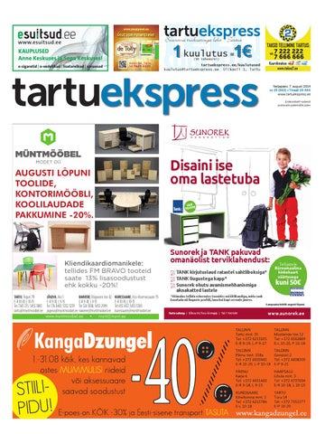 6ae968e8bb8 Tartu Ekspress, 7.08.2014 by Tartu Ekspress - issuu