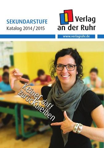 Katalog Sekundarstufe Herbst 2014 by Verlag an der Ruhr - issuu