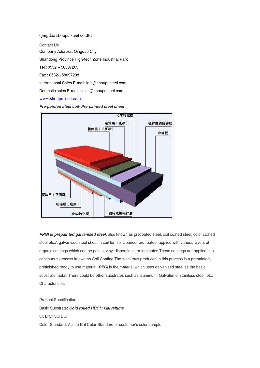Prepainted steel by david - issuu