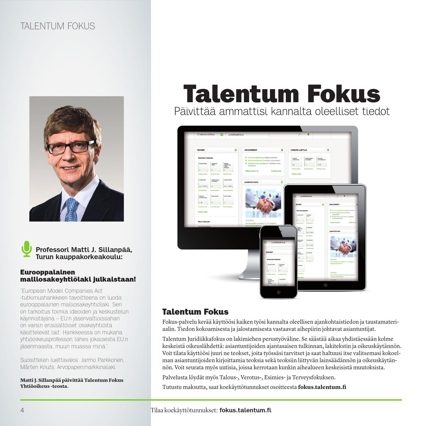 Talentum Fokus