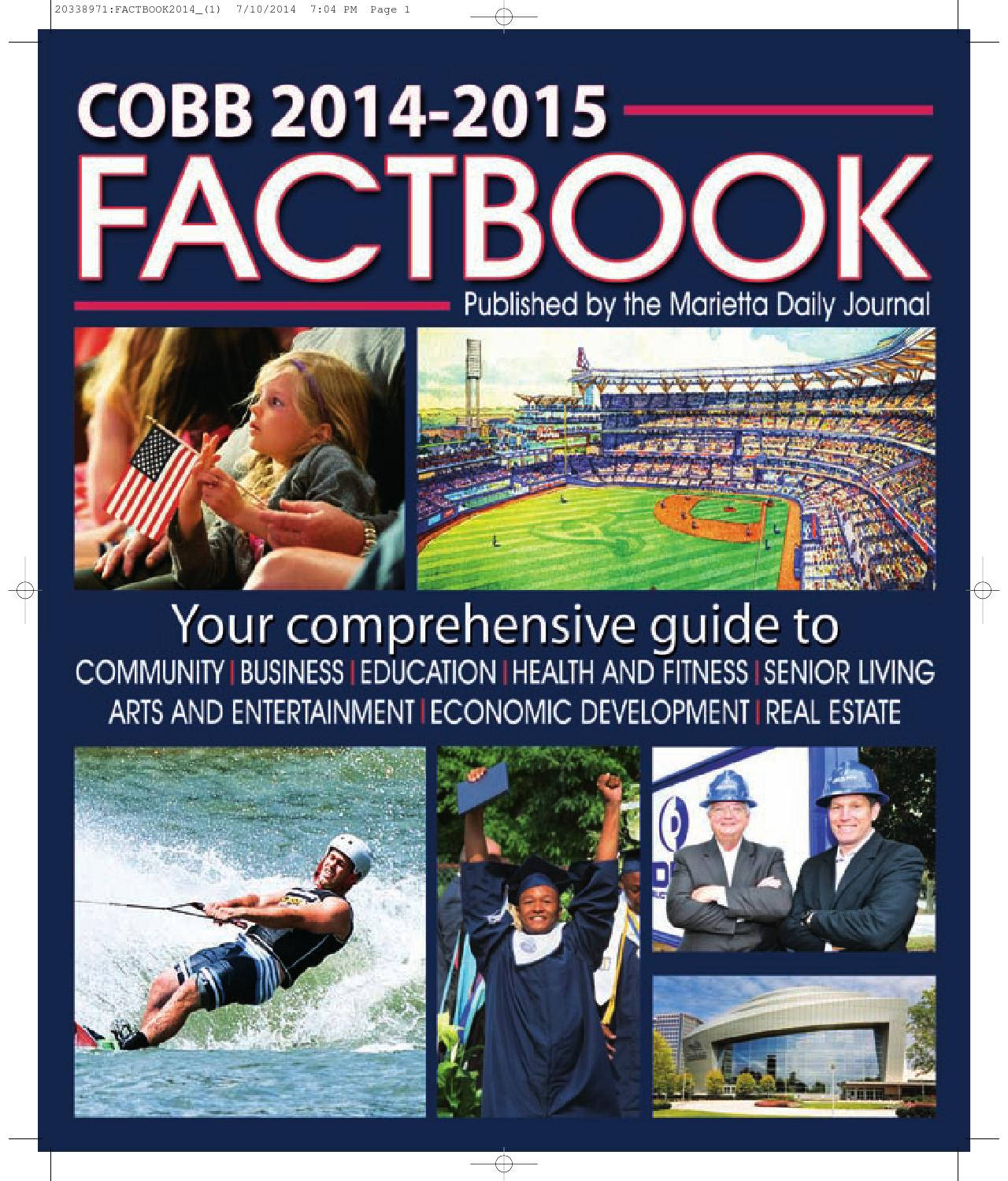 2014 15 cobb factbook by otis brumby iii issuu 1betcityfo Images