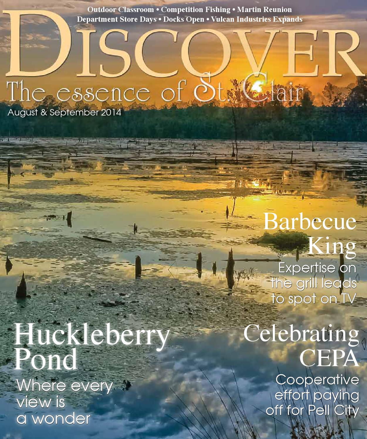 Alabama saint clair county odenville - Discover St Clair August September 2014 By Discover The Essence Of St Clair Issuu