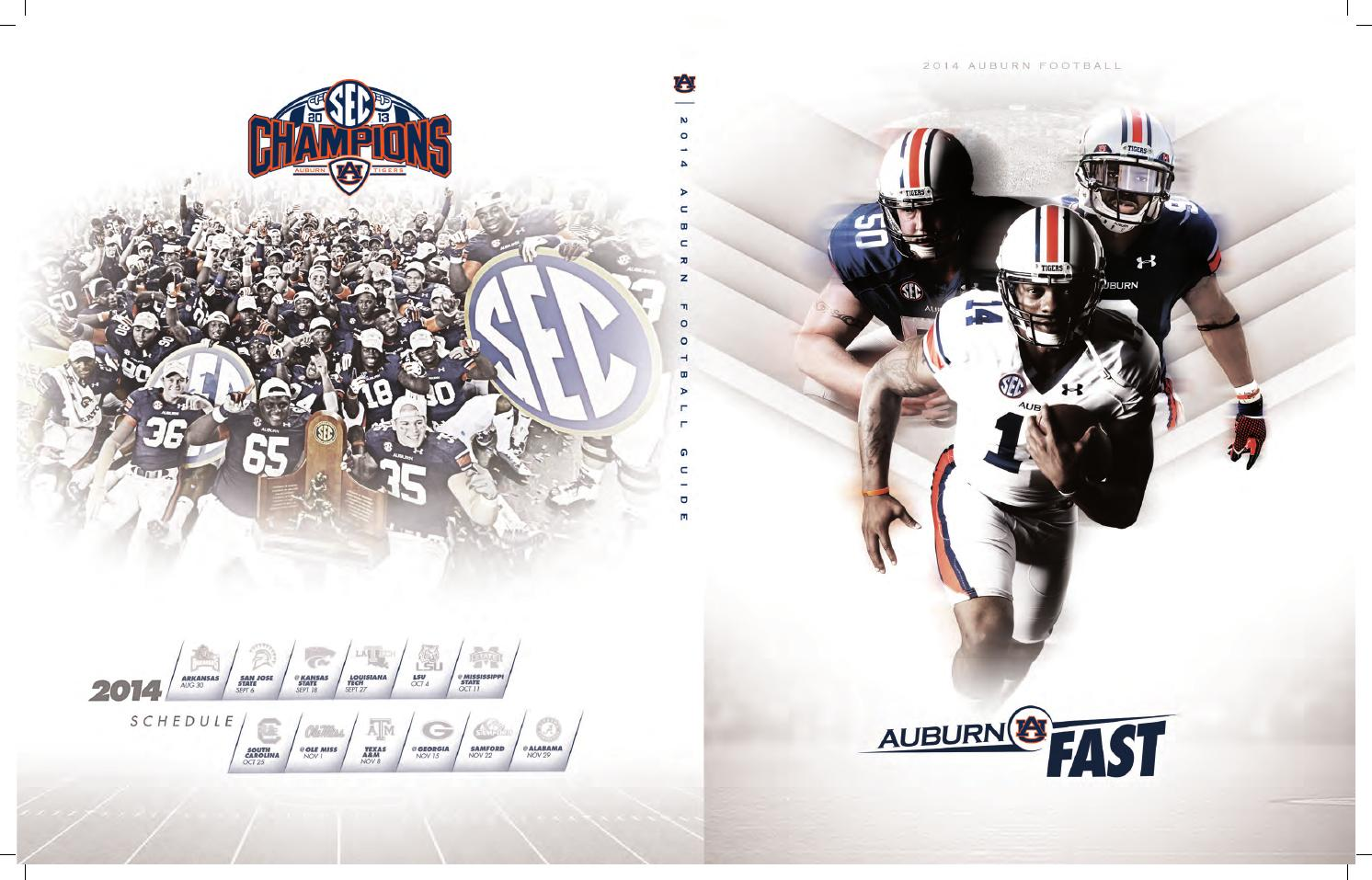 2014 Auburn Football Guide by Auburn Athletics Department
