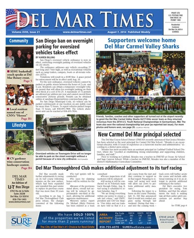 Del mar times 8 7 14 by mainstreet media issuu page 1 fandeluxe Images