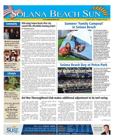Solana beach sun 8 7 14 by mainstreet media issuu page 1 fandeluxe Images