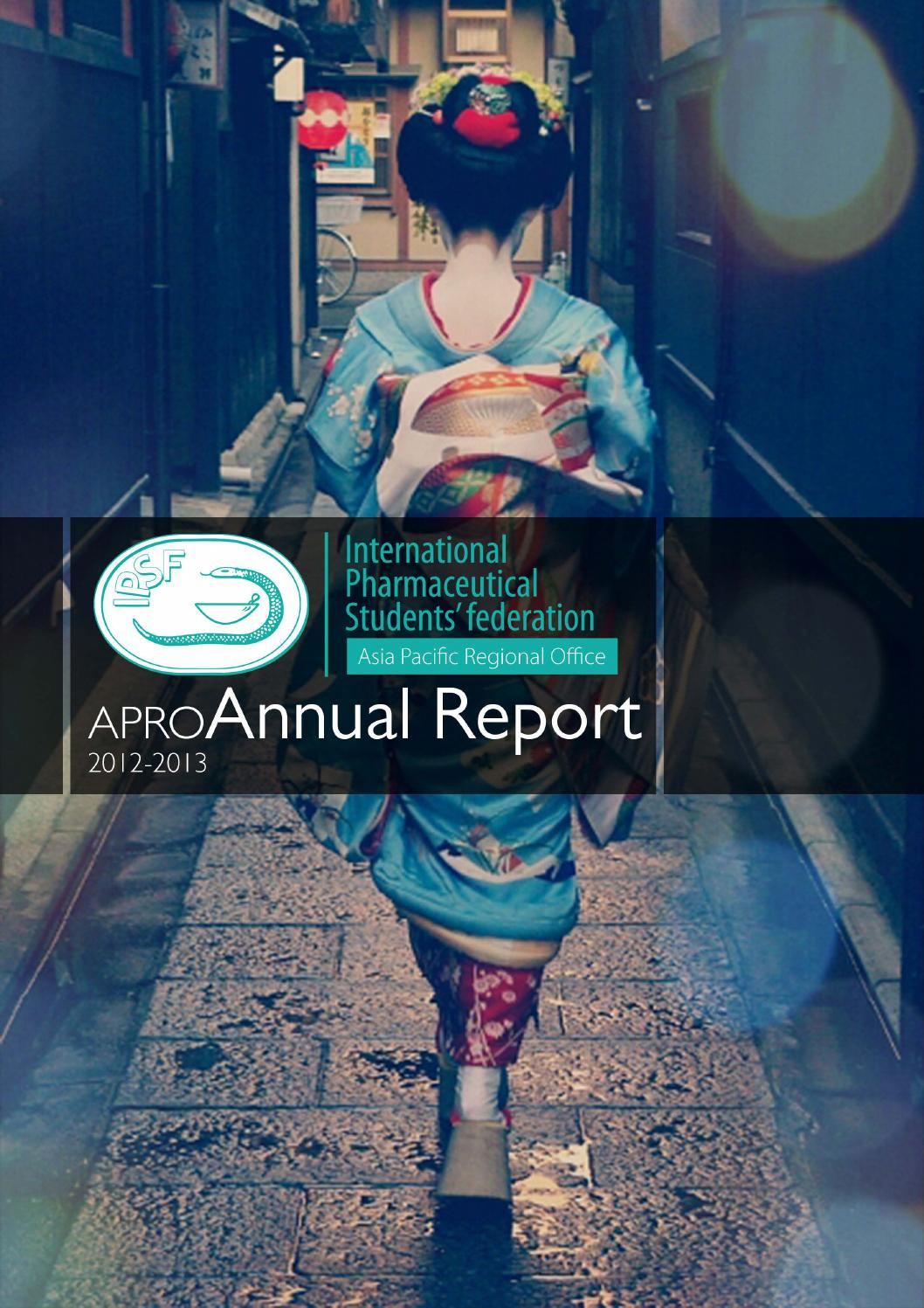 Ipsf Apro Annual Report 2012 2013 By Ipsf Apro Issuu