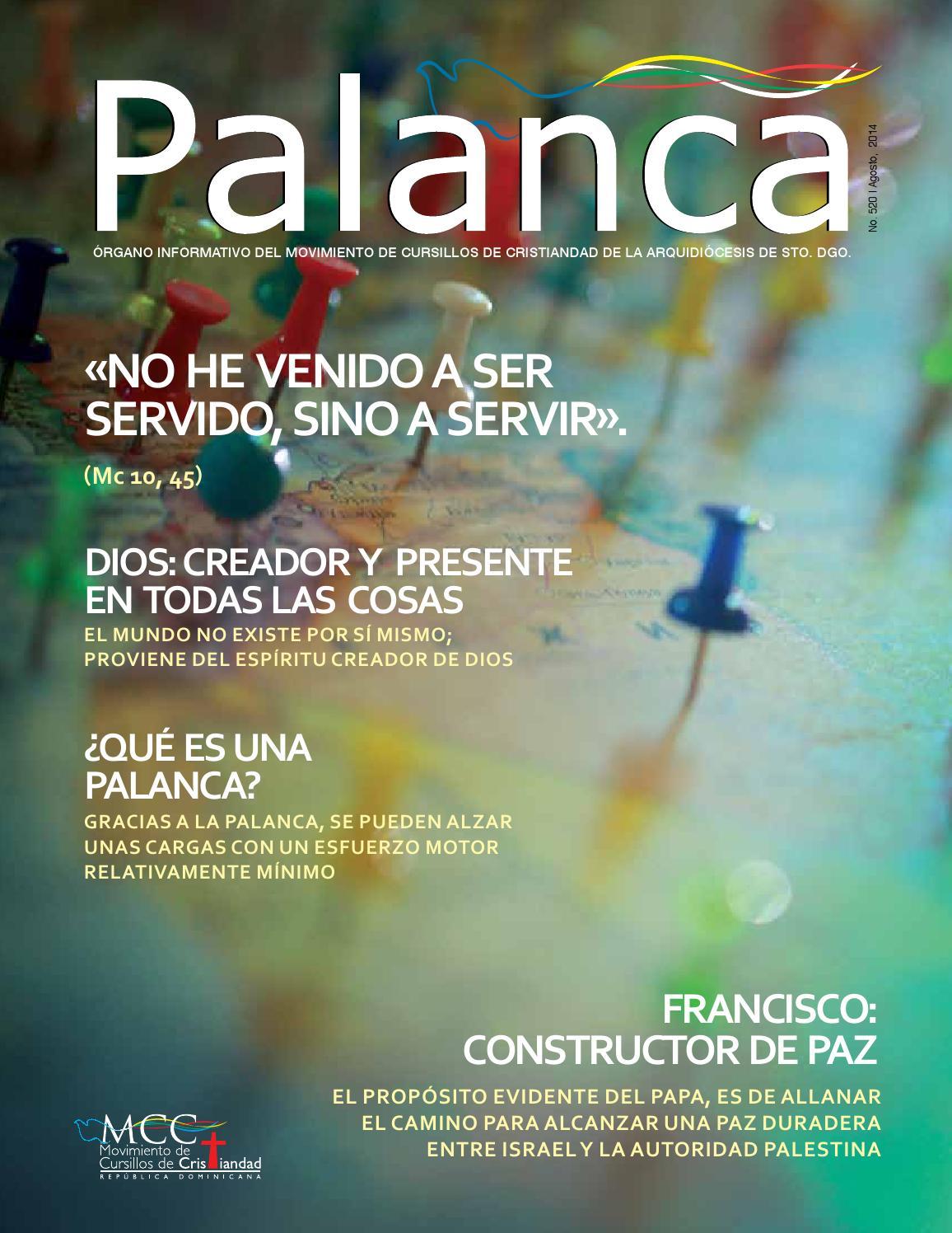 Palanca de agosto by Jose Monegro - issuu