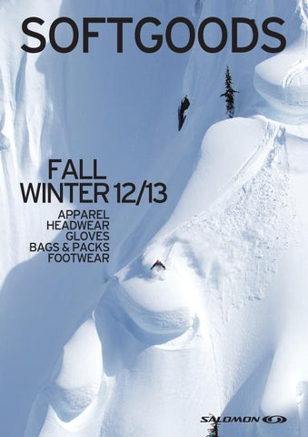 SOFTGOODS FALL WINTER 12 13 APPAREL headwear gloves BAGS   PACKS FOOTWEAR b2083cbfc