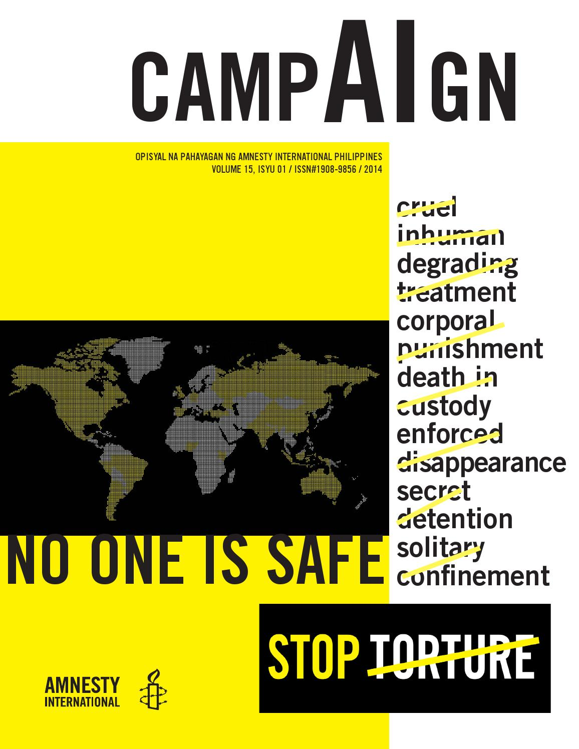 campAIgn News Magazine, Volume 15, Issue # 1, 2014 by