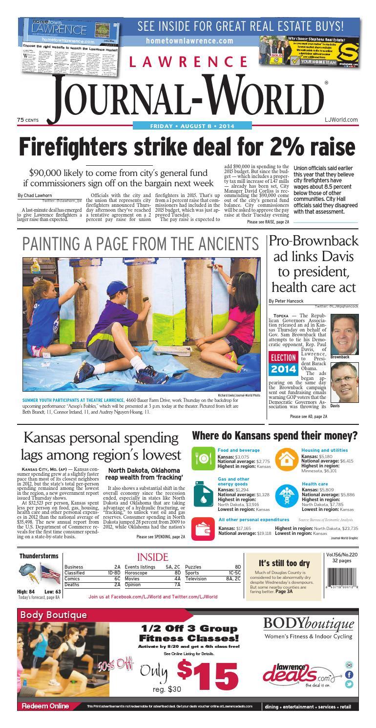 Lawrence Journal-World 08-08-14 by Lawrence Journal-World ...
