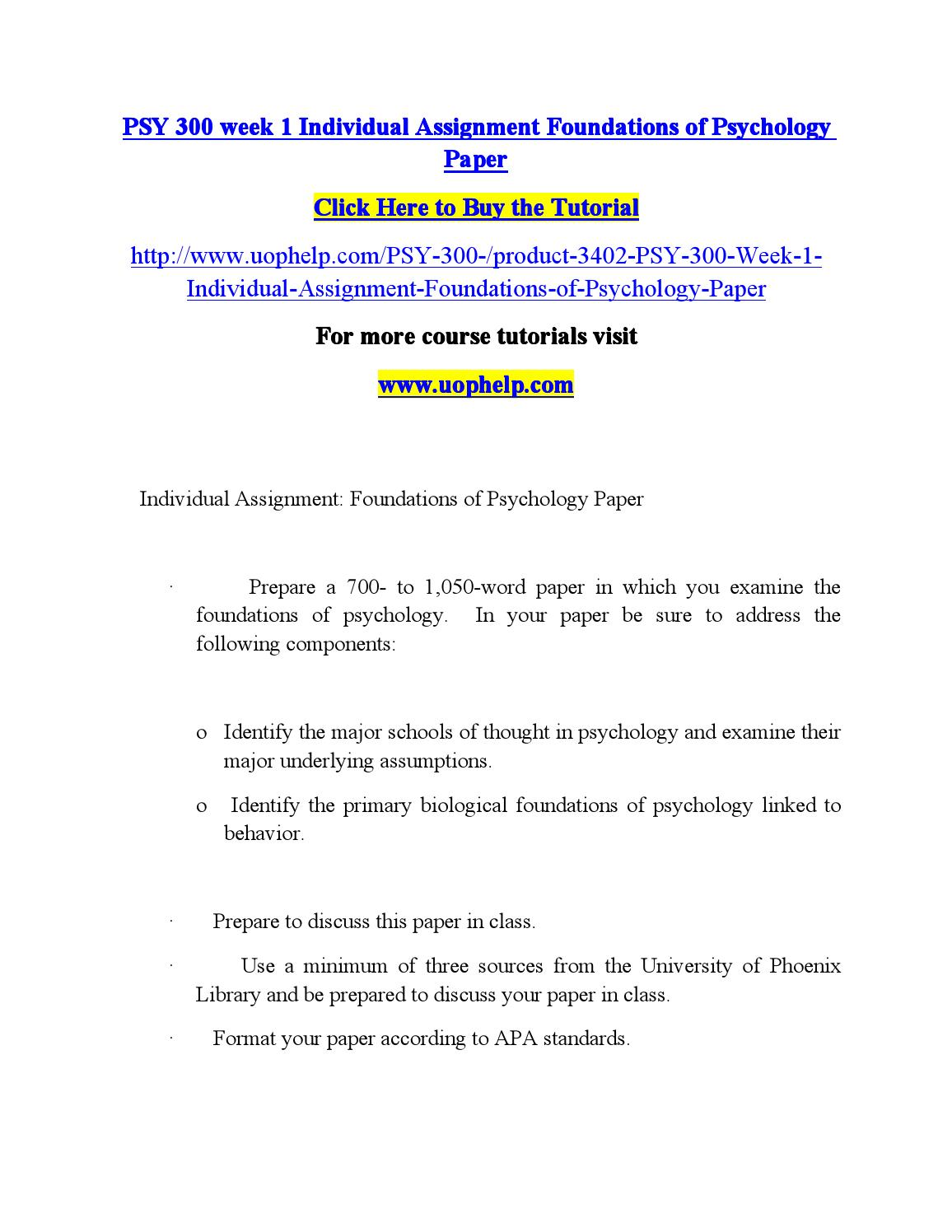 foundations of psychology paper Is morality one thing, or many moral foundations theory  moral foundations, pluralism, social psychology, moral judgments, moral  paper statistics downloads.