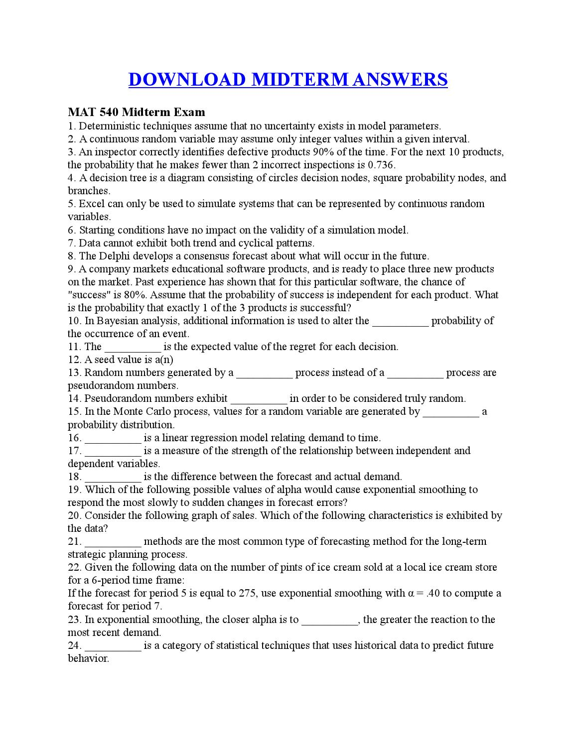 Midterms: What you Need to Know to Succeed! - ExamTime