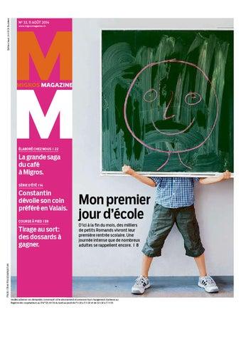 Migros magazin 33 2014 f vd by Migros-Genossenschafts-Bund - issuu