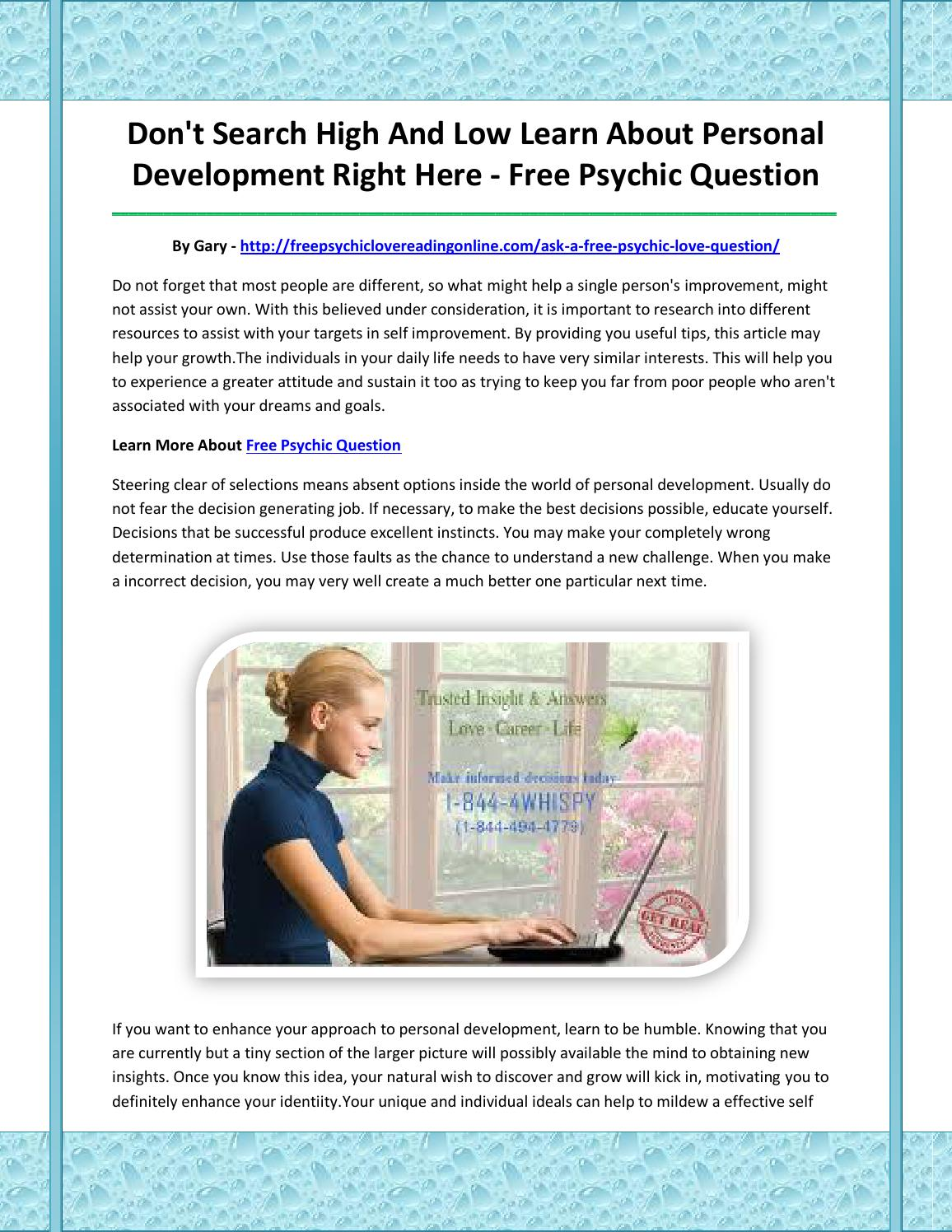 Free psychic question by agdjagsk - issuu