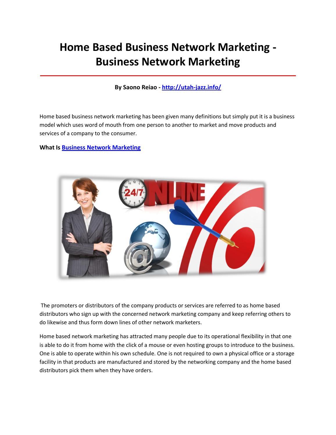Business network marketing by yaere - issuu