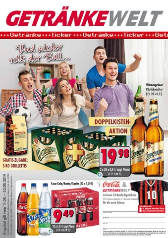 Aktuelle Angebote der GETRÄNKEWELT by Getränke Pfeifer GmbH - issuu
