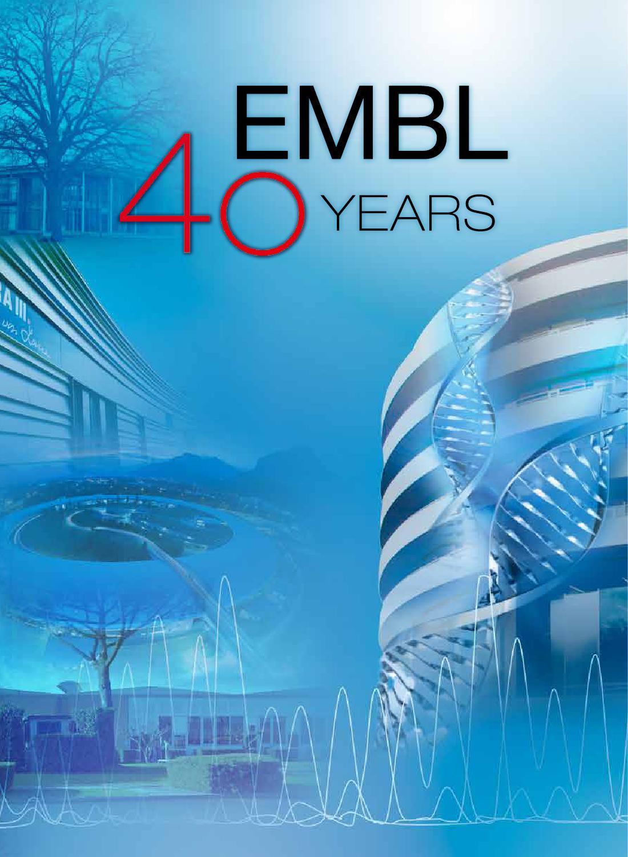Magazine: 40 years EMBL by European Molecular Biology Laboratory ...