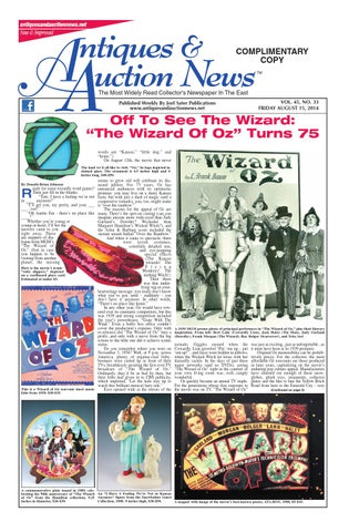 Marvelous Antiques Auction News 081514 By Antiques Auction News Issuu Wiring Cloud Oideiuggs Outletorg