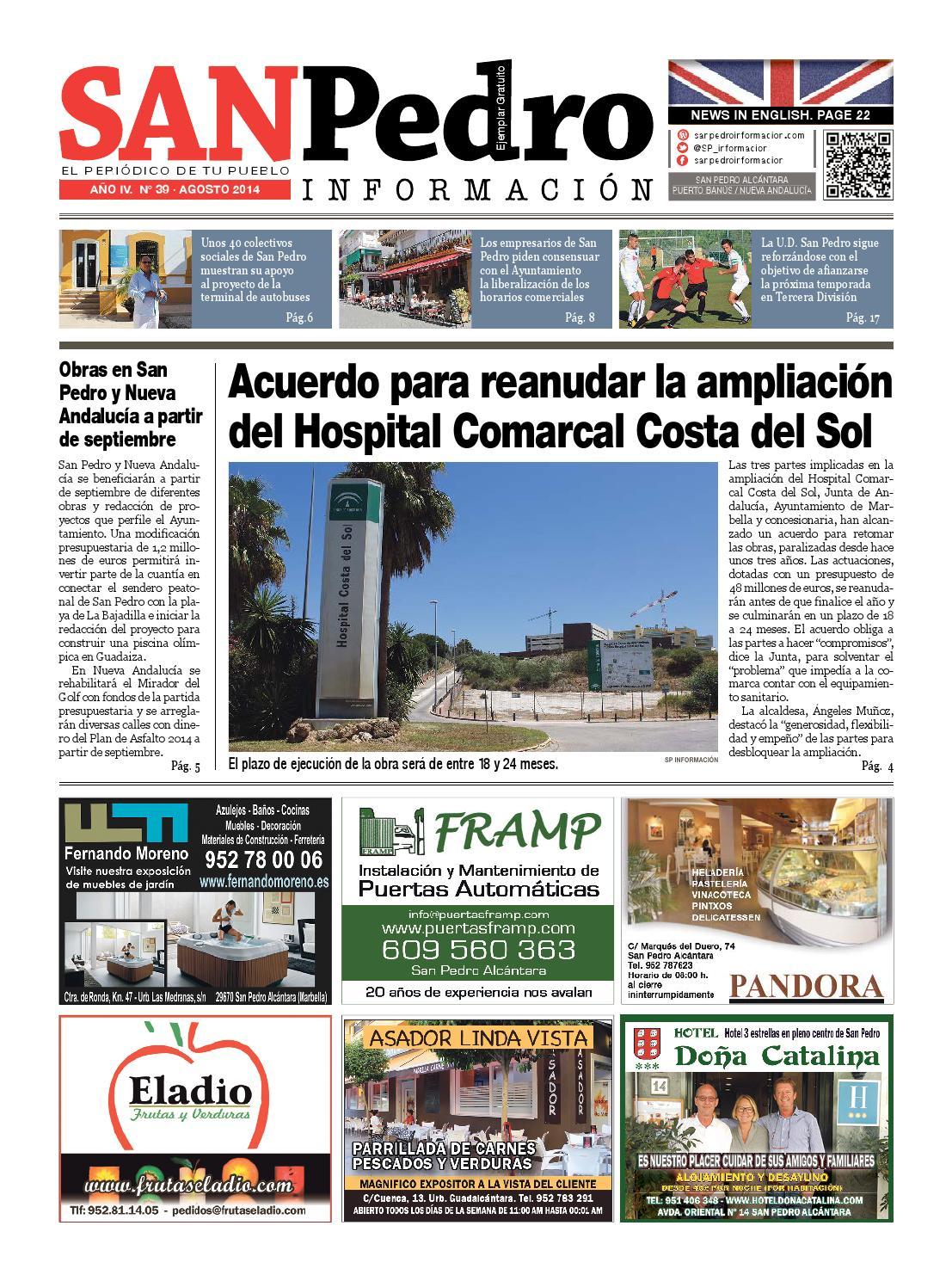 Spi agosto 2014 by San Pedro Informacion - issuu