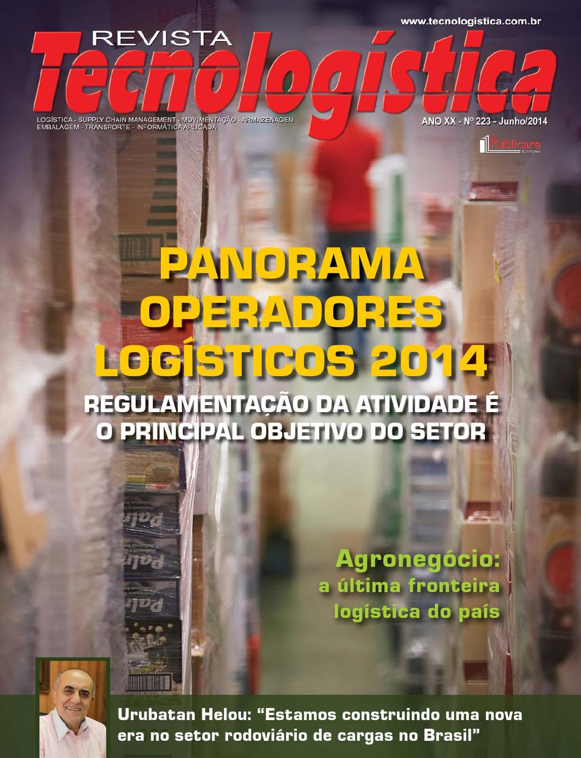 Revista Tecnologística - Ed. 223 junho 2014 by Publicare - issuu a418398a129cb