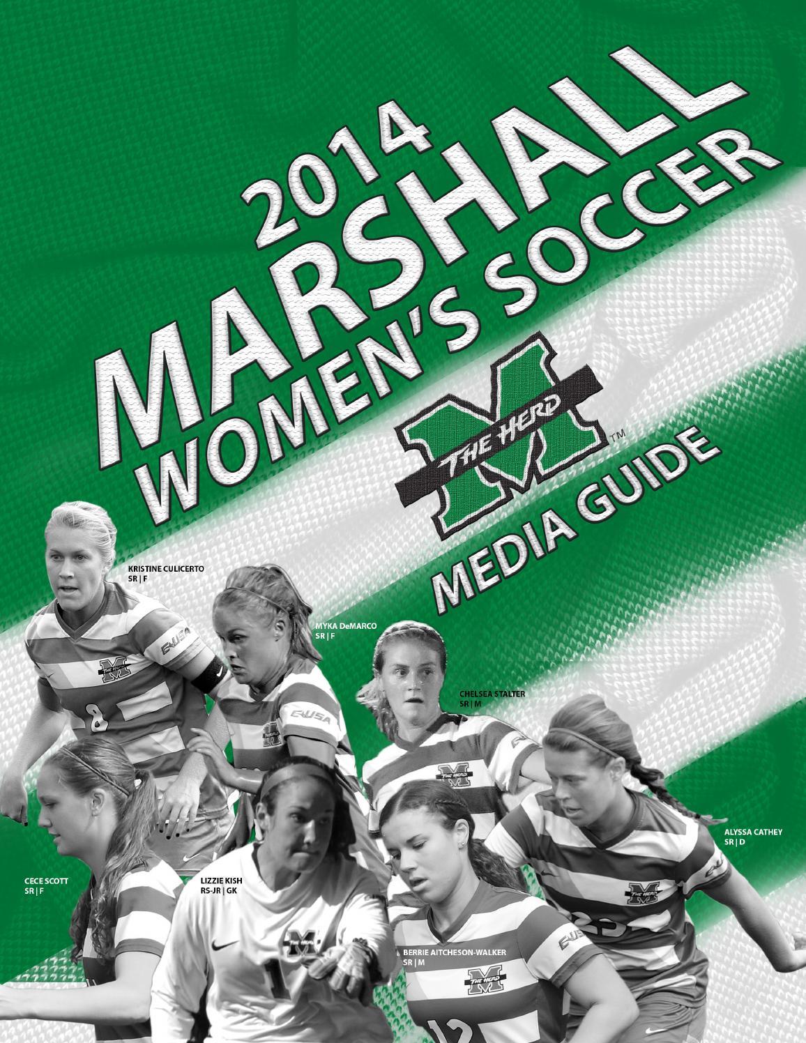 2014 Marshall Women's Soccer Media Guide by Marshall ...