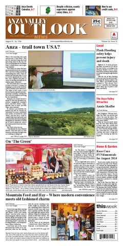 d67ae496de9 Anza Valley Outlook by Village News