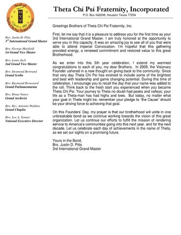 Founders day message by theta chi psi fraternity inc issuu page 1 m4hsunfo