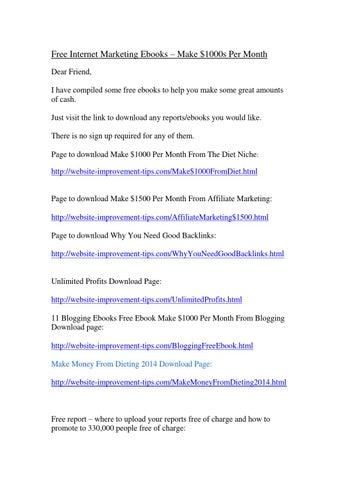 Download ebook marketing affiliate free