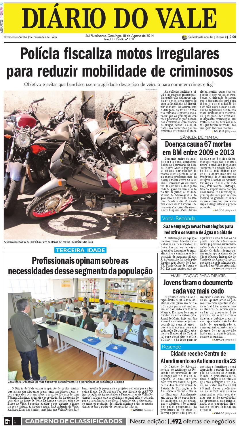 19458d9552d Completo 7391 diario domingo 10 08 2014 by Diário do Vale - issuu