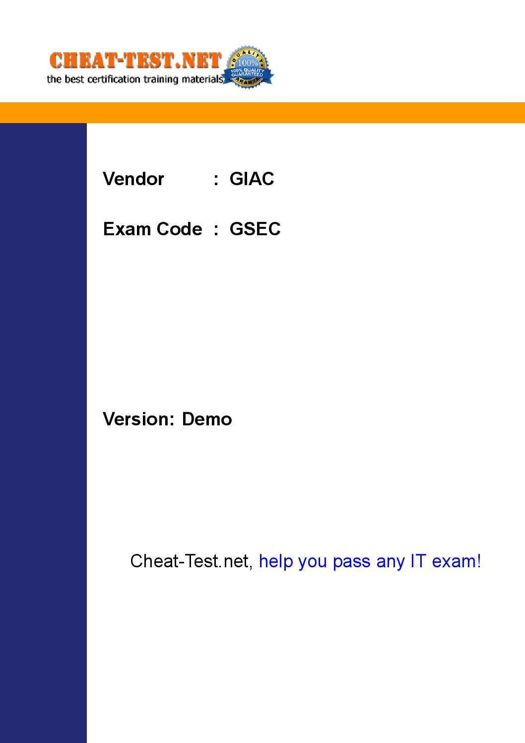 World class giac gsec certification exam pdf by mannyman20 issuu xflitez Images