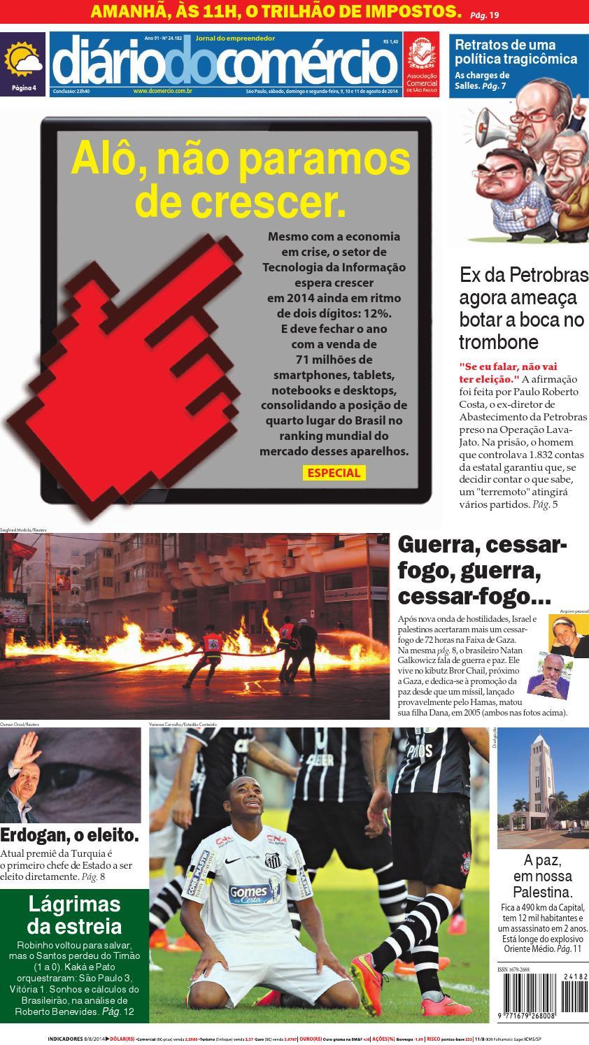 110814 by Diário do Comércio - issuu 248aa11124d5d