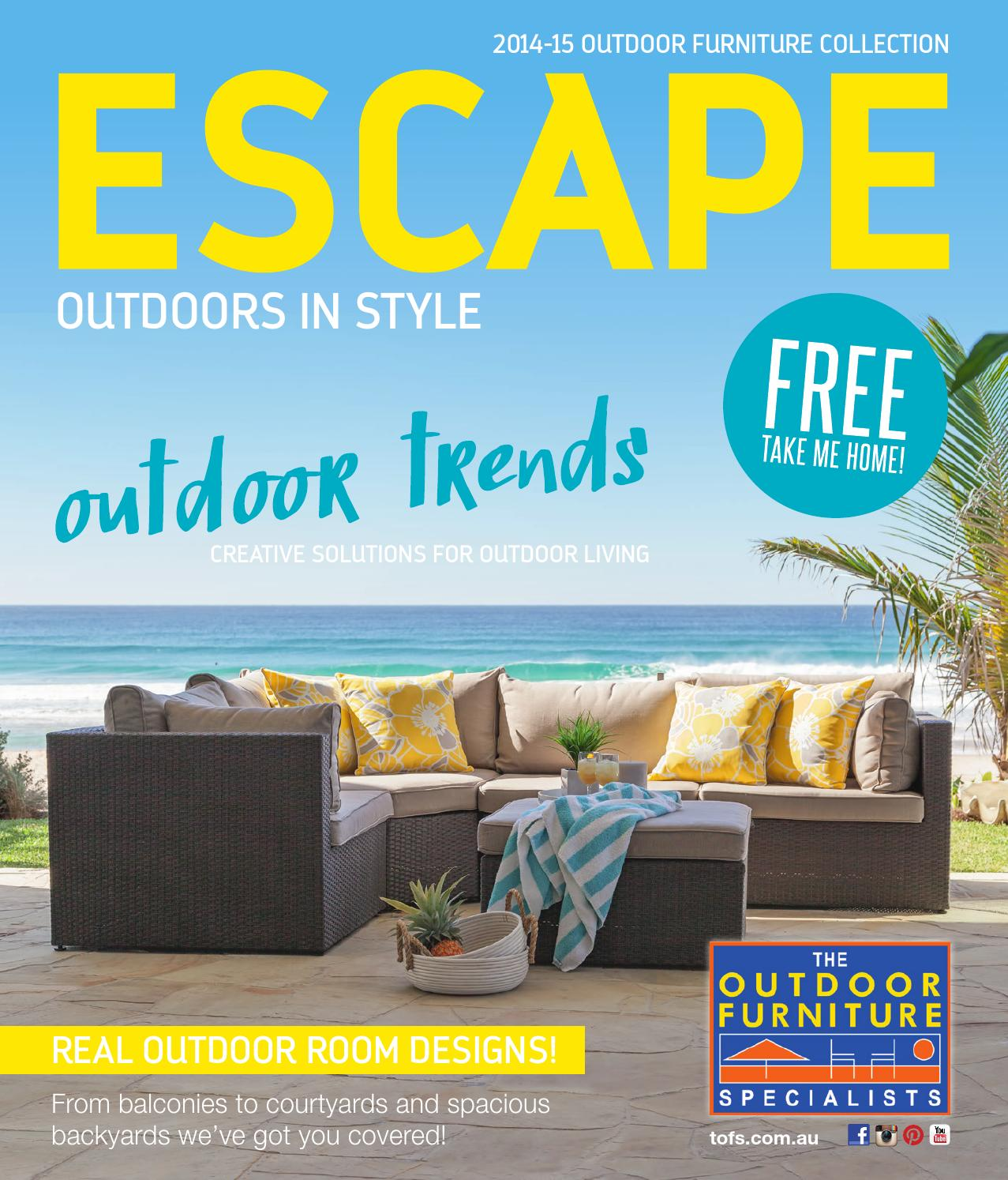 TOFS Escape Magazine 2014-15 by TOFS: The Outdoor Furniture ...