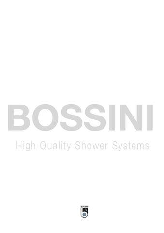 Bossini Handbrause Cubica 3 Brause Hand Shower Cubica/3 Dusche Heimwerker