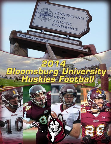 2014 Bloomsburg University Football Media Guide By Bloomsburg
