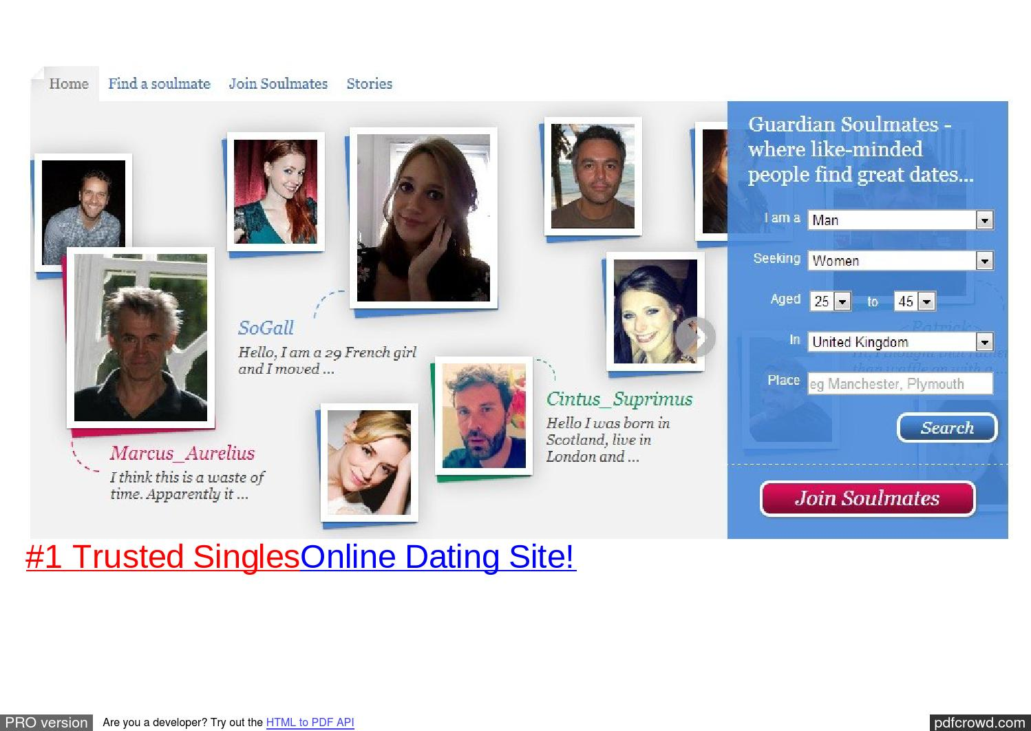 Kostenloses Cotland Dating-Websites
