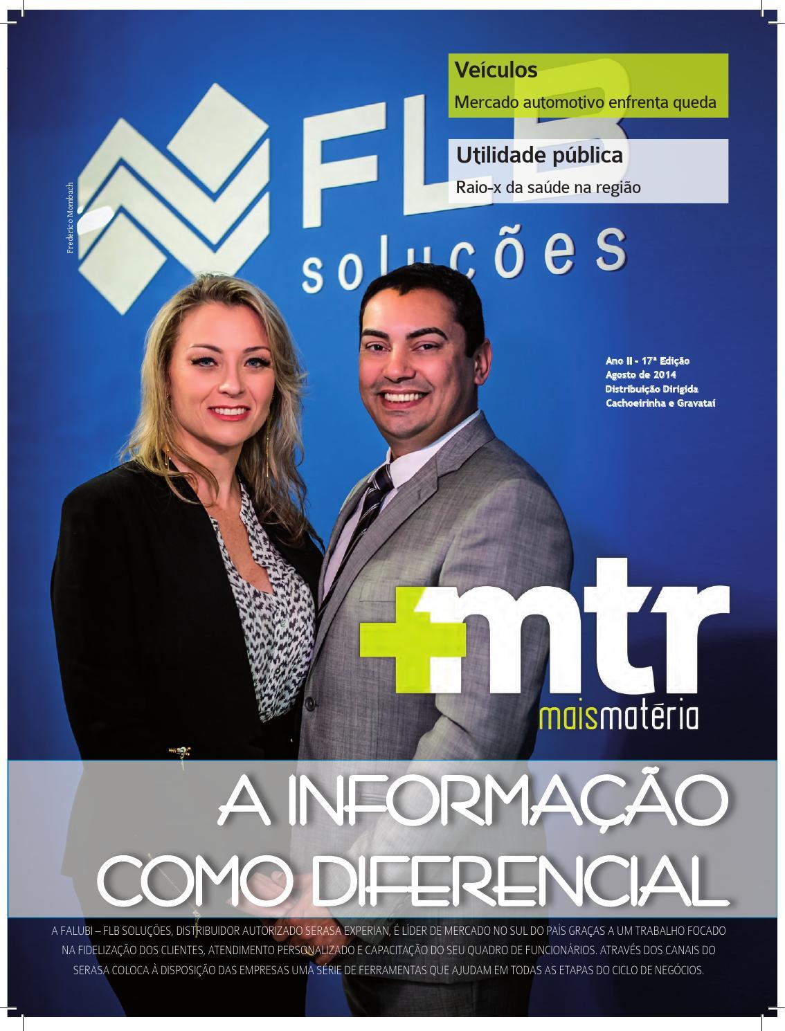 Mais Matéria 17ª edição - Agosto by TRCOM - issuu 901950f706a