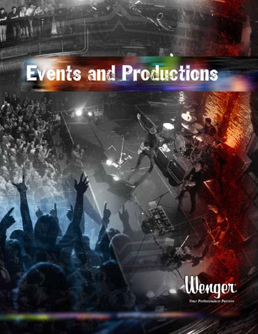 Events And Productions Catalog By Wenger Corporation Issuu
