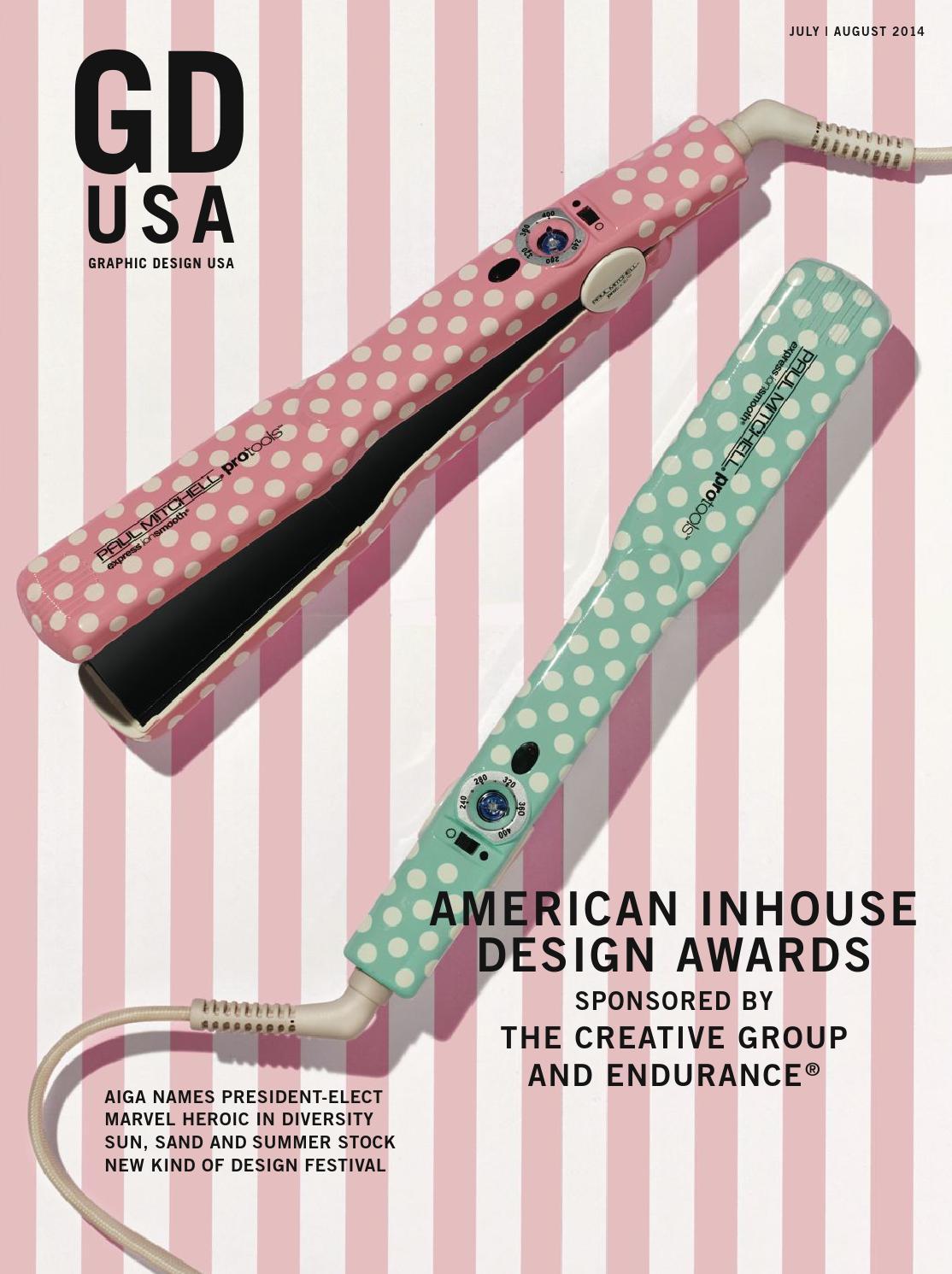 GDUSA July/August 2014 by Graphic Design USA - issuu